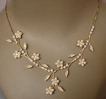 floral jewelery