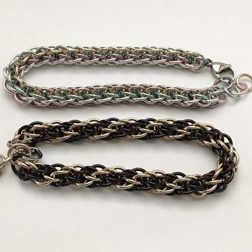 JPL-5 Chainmaille Bracelet (now including the start!)