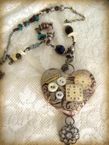 mixed media jewelery