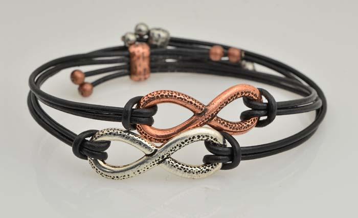March Madness Mini Class: Infinity Link Bracelet