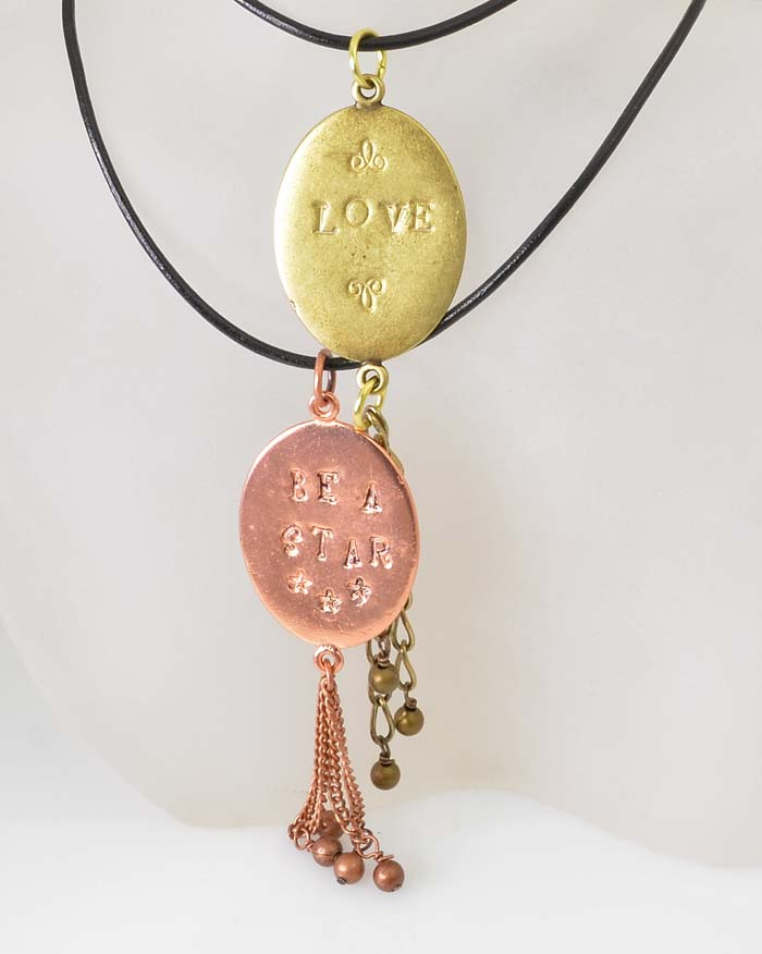 March Madness Mini Class: Stamped Pendant Necklace