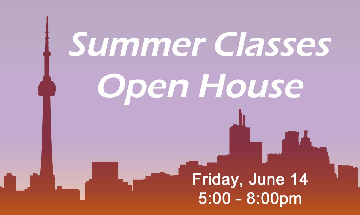 Summer Classes Open House