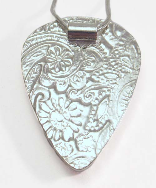 Best of Both – Silver metal clay textures and soldered construction (2 days)