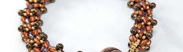 Peyote Bubble Bracelet