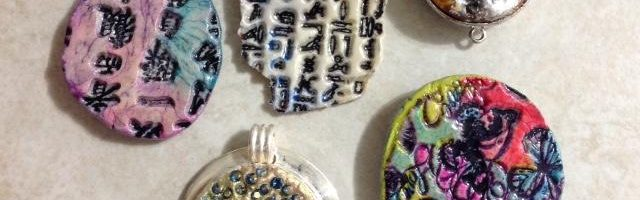 Creating with Quick Cure Clay: Pendants & Cabochons