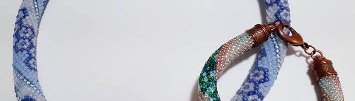 Bead Crochet Patterned Rope