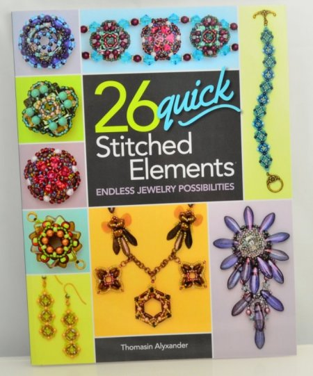 Book - 26 Quick Stitched Elements - by Thomasin Alyxander