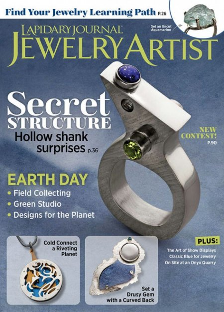 Magazine - Lapidary Journal Jewelry Artist - 2020 - March