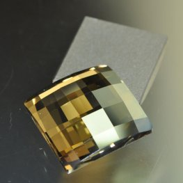 Swarovski Rhinestones - 20mm Chessboard Square (2493) - Crystal Golden Shadow