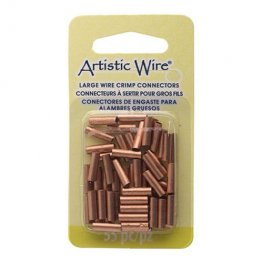 Findings - 12ga Crimp Tubes for Wire - Copper (Pack)