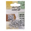 Riveting Supplies - 2.2mm Eyelets - Bright Silver (50)