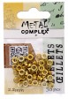 Riveting Supplies - 2.2mm Eyelets - Bright Brass (50)
