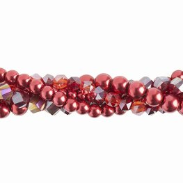 Bead Mix - Crystal Lane Twisted Bead Strands - Dahlia (Pack)