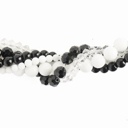 Bead Mix - Crystal Lane Twisted Bead Strands - Tuberose (Pack)