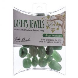 Stone Beads - Assorted Earths Jewels - Green Aventurine Natural (Pack)