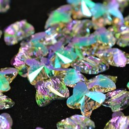 Swarovski Bead - 6mm Faceted Butterfly (5754) - Crystal Paradise Shine
