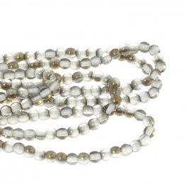 Glass - 3mm Druks - Crystal Valentin (strand)
