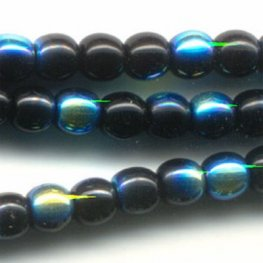 Glass - 3mm Druks - Jet AB (strand)