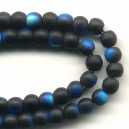 Glass - 3mm Druks - Jet Matte AB (strand)