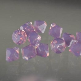 Swarovski Bead - 6mm Top-Drilled Bicone (6301) - Cyclamen Opal (12)