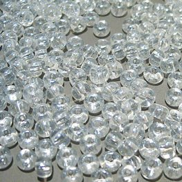 Czech Seedbeads - 6/0 Seedbead - Transparent Lustre Crystal (500g)