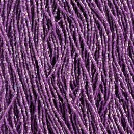 Czech Seedbeads - 10/0 2-cut Seedbeads - Opaque Iris Mauve (hank)