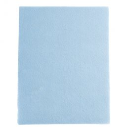 Bead Embroidery GoodFelt Beading Foundation 8.5x11in - Light Blue