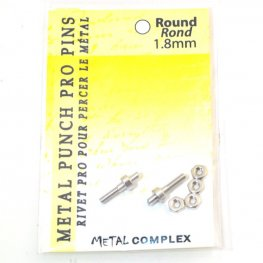 Tools - 1.8mm Replacement Pins for Hole Punch Plier - Round (2)