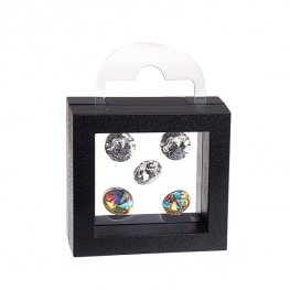 Display Stands - Small Floating Display Box Frame - Black