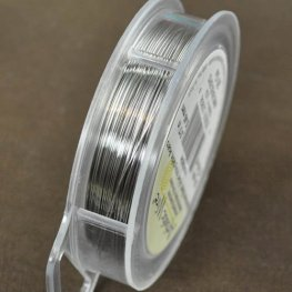 Artistic Wire - 26ga Round Wire - Stainless Steel (Spool)