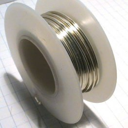 Artistic Wire - 18ga Round Wire - Silver Plated (Tarnish Resistant) (Spool)