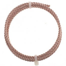 Artistic Wire - 10ga Braided Wire - Rose Gold (2.5 feet)
