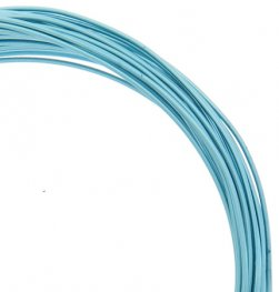 Aluminum Wire - 18ga Round Wire - Turquoise (30 feet)