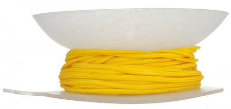 Braid - 2mm Asian Knotting Cord - Canary Yellow (20 yards)