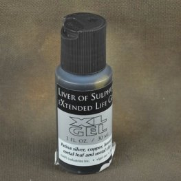 Patina - Liver of Sulfur - Extended Life Gel (1 oz)