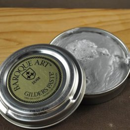 Patina - Gilders Paste - Silver (30 ml tin)