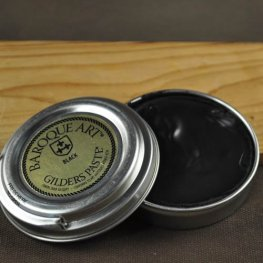 Patina - Gilders Paste - Black (30 ml tin)