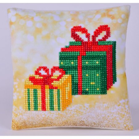 Diamond Dotz - 7x7in Mini Pillow Beginner Kit - Christmas Gifts