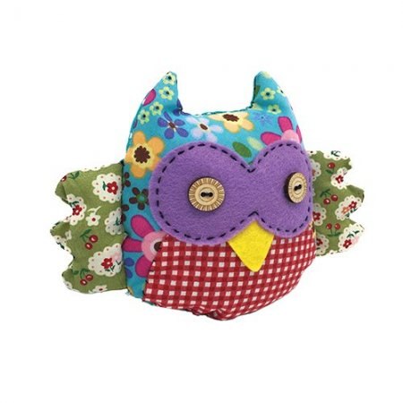 Crafty Kits - Sewing Kit - Patchwork Owl