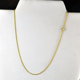 Finished Necklace - 16in Fine Chain - 14 Kt Gold-filled