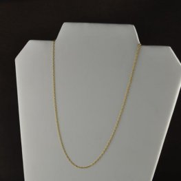 Finished Necklace - 18in Fine Chain - 14 Kt Gold-filled
