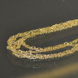 Finished Necklace - 20in Fine Chain - 14 Kt Gold-filled