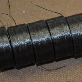 Thread - Size AA C-LON Thread - Black (Spool)
