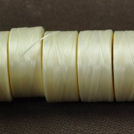 Thread - Size AA C-LON Thread - Cream (Spool)