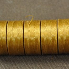 Thread - Size AA C-LON Thread - Gold (Spool)