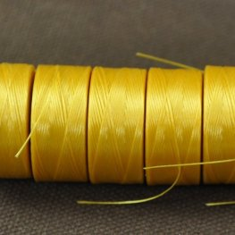 Thread - Size AA C-LON Thread - Golden Yellow (Spool)