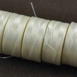 Thread - Size D C-LON Thread - Cream (Spool)