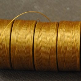 Thread - Size D C-LON Thread - Gold (Spool)