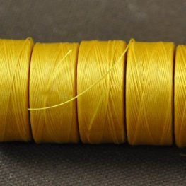 Thread - Size D C-LON Thread - Golden Yellow (Spool)