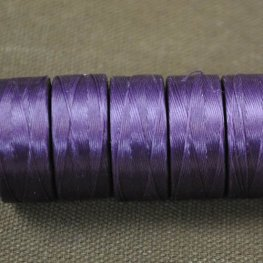 Thread - Size D C-LON Thread - Purple (Spool)
